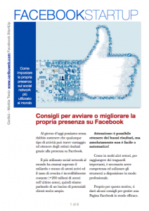 guida facebook startup